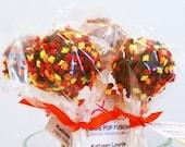 Cake Pops Thanksgiving Autumn Leaves