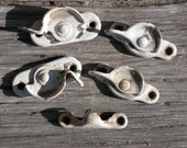 SALE - Assorted Vintage Sash Window Brass Locks & One Catch