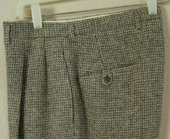 40s -31W- Pants - Hollywood - Rockabilly - 1940s - Winter - Heavy Wool - VLV - RnR - WW2