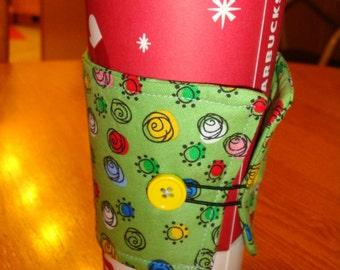 Swirly Coffee Cup Cozy