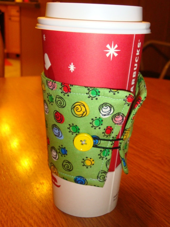 Swirly Coffee Cup Cozy