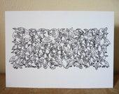 Art Notecard 5 x 7 inches - Rav'n Ravens