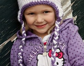 Hello Kitty Hat (made to order)