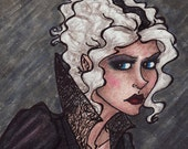 Susan with a Poker - Susan Stohelit - Discworld - 2x6 Laminated Boomark