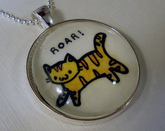 Cat Pendant, Kawaii Kitty