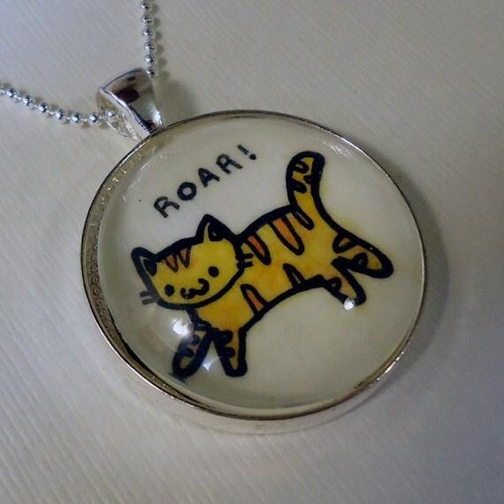 Cat Pendant, Kawaii Kitty