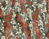 Japanese Yuzen Chiyogami Washi Paper (Floral Design 10) - A4 Sheet