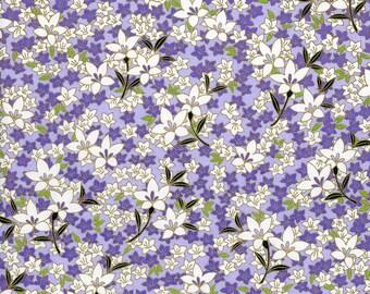Japanese Yuzen Chiyogami Washi Paper (Floral Design 25) - A4 Sheet