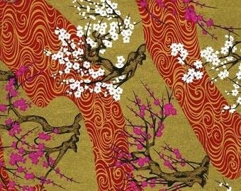 Japanese Yuzen Chiyogami Washi Paper (Panorama Design 10) - A4 Sheet