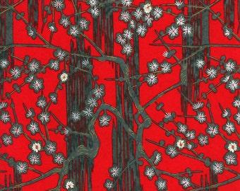 Japanese Yuzen Chiyogami Washi Paper (Panorama Design 20) - A4 Sheet