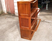 Barrister Style 3 Piece Vintage Globe Wernicke Bookcase (This Item Is Reserved For A Buyer Until May 1st)