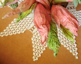 Crochet Shell White Star Doily (22 inches)