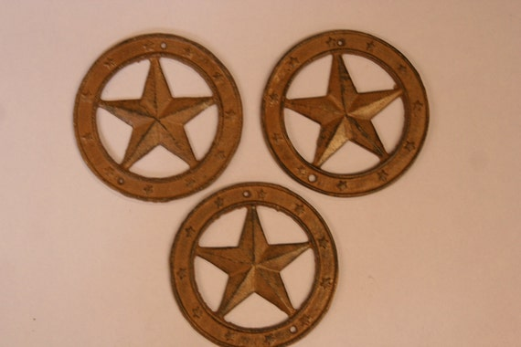 3 lone star wall decor ready to paint lone star by runningtide for Lone star home decor