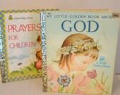 2 Vintage Little Golden Books (Easter)
