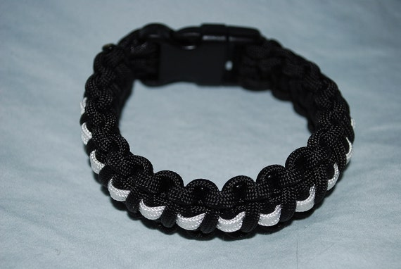 pow paracord bracelet by thedogtagguy on etsy