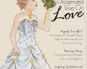Fallopian Falafel Zine - Issue 8 on Love