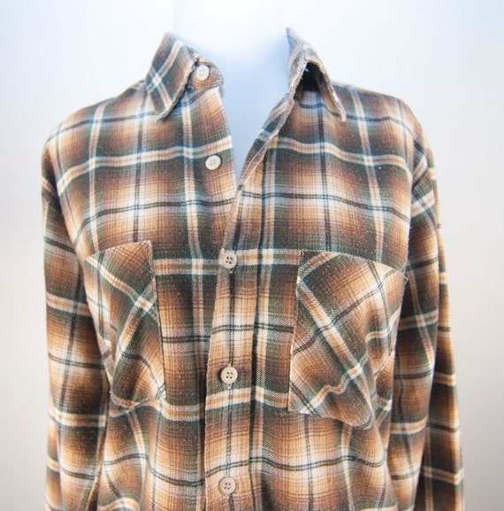 Wrangler plaid shirt grunge hipster indie urban fashion vintage long sleeves flannel