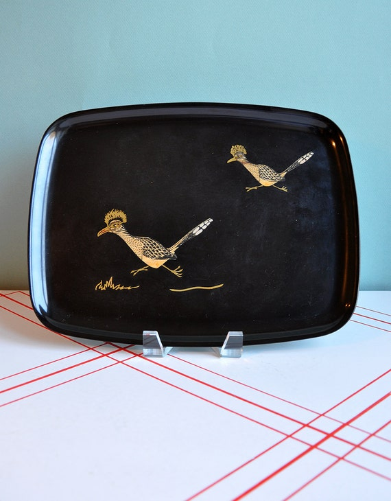 Couroc Roadrunners Tray