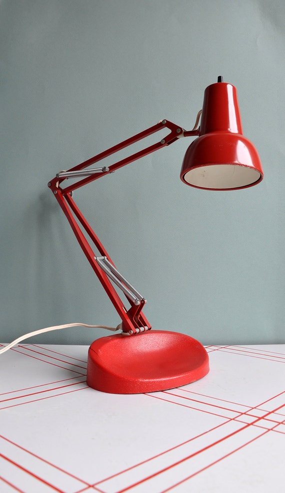 sale 15 off lil luxo l1 desk lamp norway rare. Black Bedroom Furniture Sets. Home Design Ideas