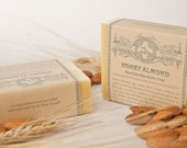 Honey Almond Glycerine Shea Butter Soap Made by Nuns