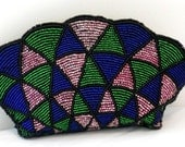 NEIMAN MARCUS Beaded Evening Clutch