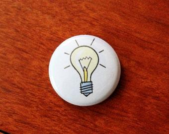 Idea Lightbulb - 1 inch