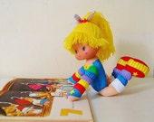 Rainbow Brite Doll Posable Hallmark 1983 Children's Toy