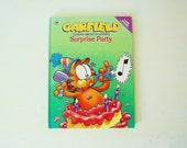 Garfield Book Surprise Birthday Party