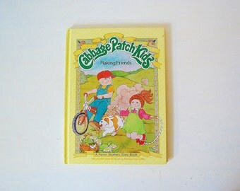 Cabbage Patch Kids Book Making Friends Vintage Collectibles