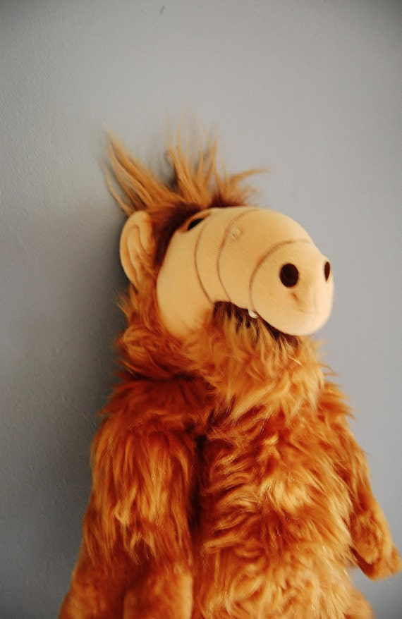 Alf Plush Doll Large 1980's Collectible Alien Toy (RESERVED)