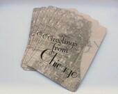 40 Vintage Chicago Postcards