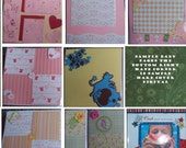scrapbooks,digital albums any occasion(wedding,graduation,baby family albums) great gifts