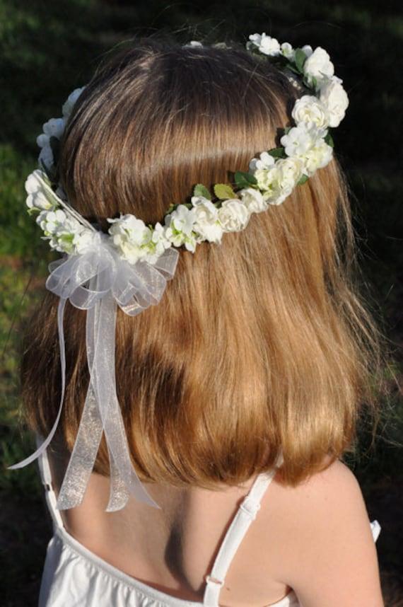 Head Wreath Flower Girl Flower Girl Head Wreath