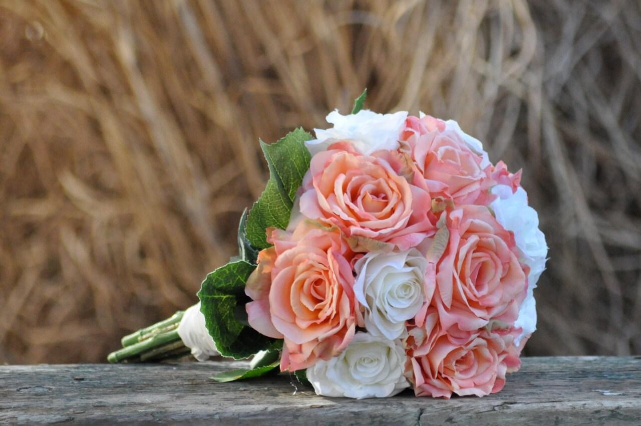 Silk Wedding Bouquet Wedding Bouquet Keepsake Bouquet