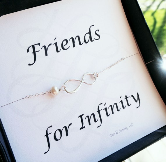 Silver Wedding Gifts For Friends : gifts set of FIVE friendship bracelets and cards, boxed gift ...