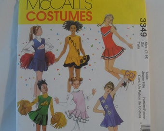 McCall's Girl's Costume Pattern - New  Size  7- 14