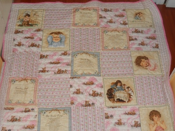 A Childs Prayer Handmade Quilt