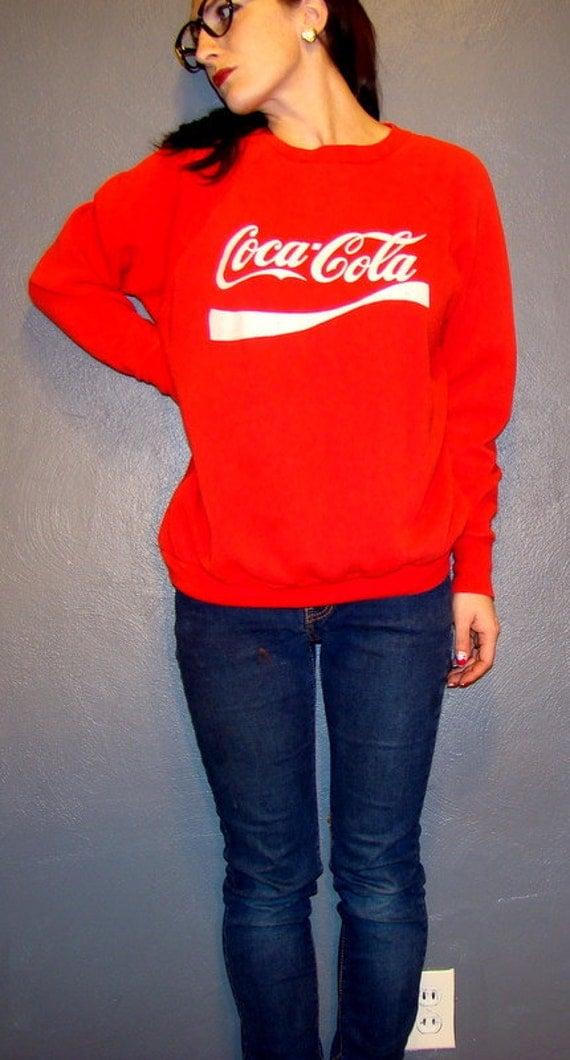 vintage coca cola sweatshirt