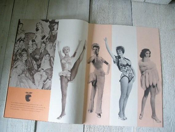 Showgirl program night club souvenir 1962 mature