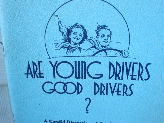 Vintage drivers manual Oregon 1938