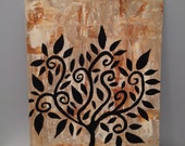 Tree  of  Life  -Original Abstract Painting-by GINNART