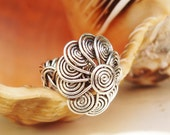 Ring Wire Braided with flower