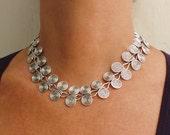 Etruscan Wire swirls Necklace