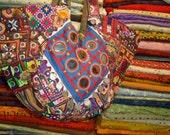 Patchwork vintage - Hip/Tribal/Ethnic/Unique/Bohemian patchwork bag