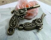 5pcs 26x43mm The Flower Gun Antique Bronze Retro Pendant Charm For Jewelry Pendant 1921
