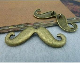 10pcs 18x44 mm The  Antique Bronze Retro Pendant  Charm For Jewelry Pendant C2183
