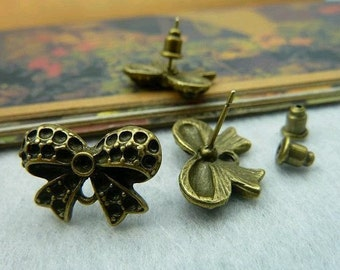 20pcs 14x20mm The Butterfly Antique Bronze Charm For Earring Pendant C2149