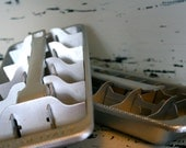 Aluminum Ice Cube Trays made in Italy Set of 2