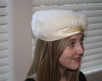 White Rabbits Furniture Pillbox Ladies Hat