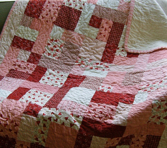 My Funny Valentine Lap or Baby Quilt